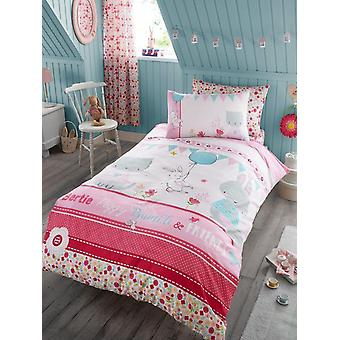 Bertie And Friends Childrens Single Duvet Cover