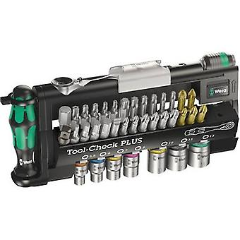 Bit set 32-piece Wera Tool-Check PLUS 05056490001 Slot, Phillips, Pozidriv, Allen, TORX socket, TORX BO incl. torque wre