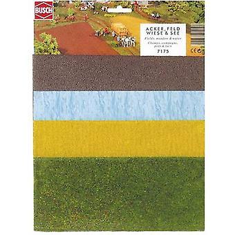 Layout matta majsfält, fält, äng, sjön Busch 7175