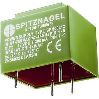 AC/DC PSU (print) Spitznagel SPN 00224 24 Vdc 0,1 en 2,4 W