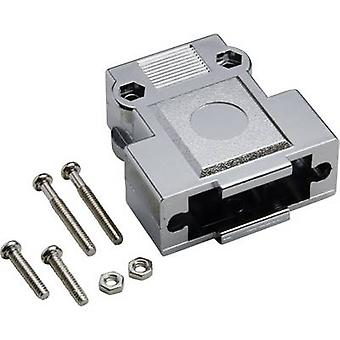 D-SUB housing Number of pins: 25 Plastic, metallised 180 ° Silver BKL Electronic 10120249 1 pc(s)