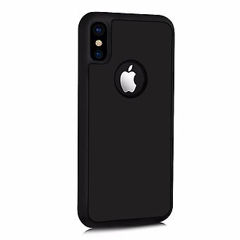 Matte black anti-gravity shell case for Iphone X!