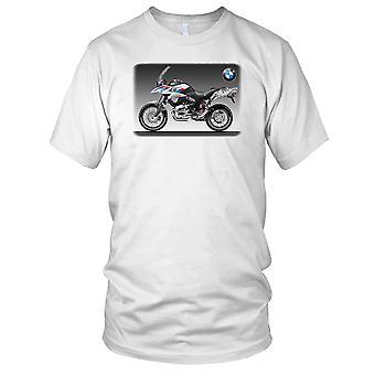 BMW GS1250R Awesome sykkel Mens T-skjorte