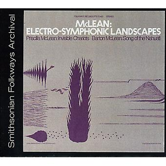 Barton McLean & Priscilla - McLean: Electro-symfoniczny krajobrazy [CD] USA import