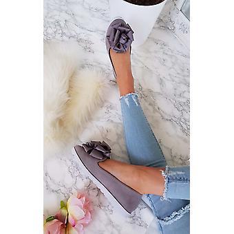 IKRUSH Womens Robyn Floral Bow Sandal plat