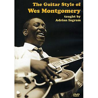 Wes Montgomery Guitar Style [DVD] USA import