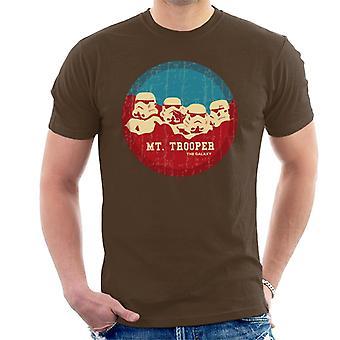 Original Stormtrooper Mt Trooper Rushmore Herren T-Shirt