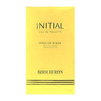 Boucheron Initial Perle De Soleil Limited Edition Eau De Toilette 3.4Oz/100ml In Box