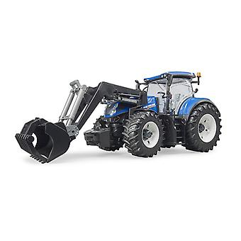 Bruder New Holland tractor + frontlader
