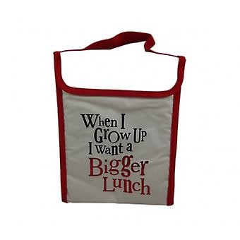Bright Side When I Grow Up Childrens Novelty Lunch Bag