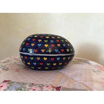 Boksen A-1014 som egg, 13 x 10 x 10 cm, drømmer, BSN