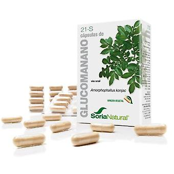 Soria Natural Capsules 21-S Glucomannan (Diet , Supplements)
