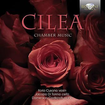 Cusano, Llaria Jacopo Di Tonno Domenico Codispoti - Cilea: Chamber Music [CD] USA import
