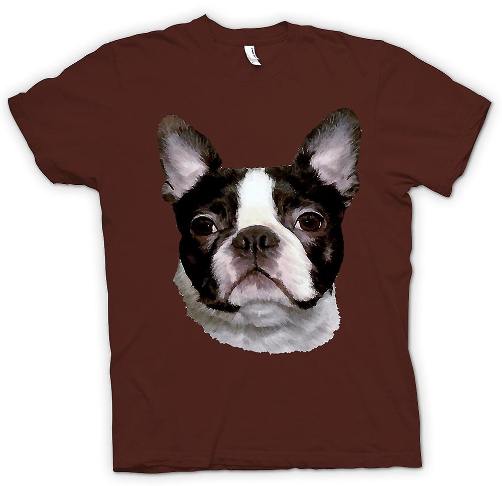 Mens t-shirt - Boston Terrier animali - cane