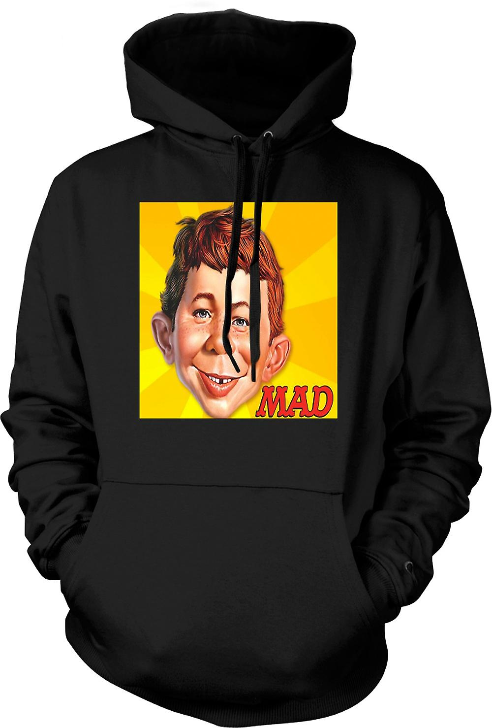 Mens Hoodie - Mad Satiracal - Drôle