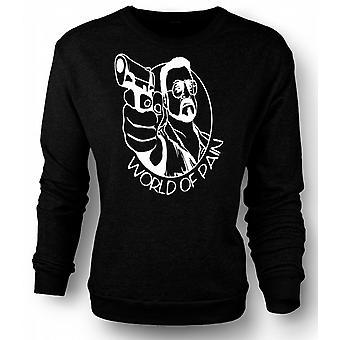 Womens Sweatshirt Big Lebowski - verden av smerte