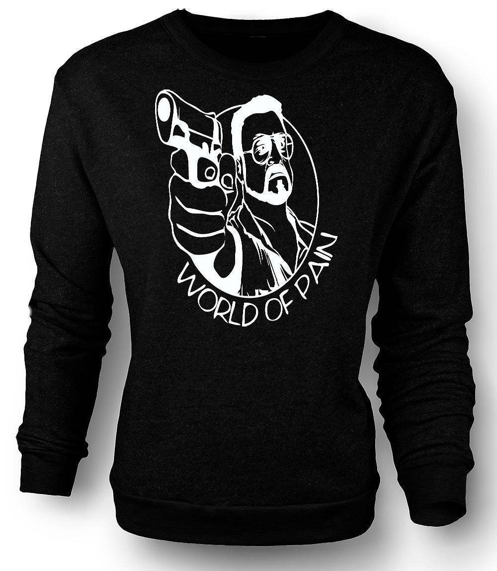 The Big Lebowski Mens Sweatshirt - monde de la douleur