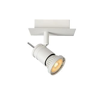 Lucide Twinny-LED Modern Rectangle Metal White Ceiling Spot Light