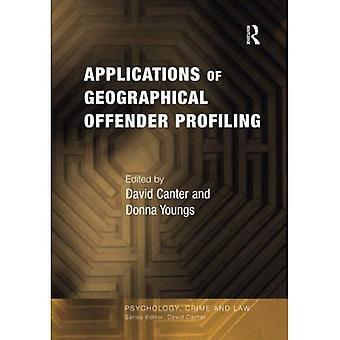 Aplicações de criminoso geográfica de perfil (Psicologia, direito e Crime)