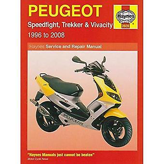 Peugeot Speedfight Trekker (TKR) en levendigheid en Service reparatie handleiding: 1996 tot en met 2008 (Haynes Service en reparatie handleidingen)
