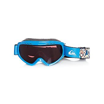 Quiksilver Daphne Blue-Animal Party 2018 Flake Kids Snowboarding Goggles