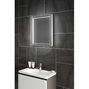 Diamante x dobladillo baño espejo con Infra-rojo sensor y cojín del separador de partículas