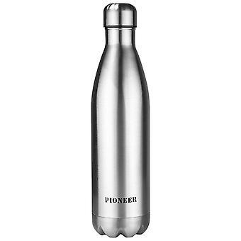 パイオニア 750 ml ステンレス真空断熱ホット/コールド密封ボトル