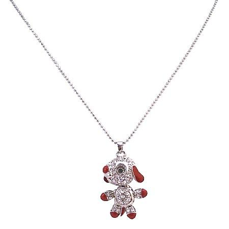 Under $5 Animal Pendant Necklace Just Striking & Adorable Dog Pendant