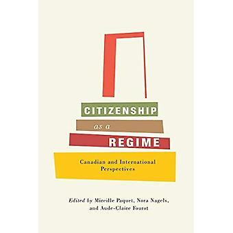 Ciudadanía como un régimen: perspectivas canadienses e internacionales