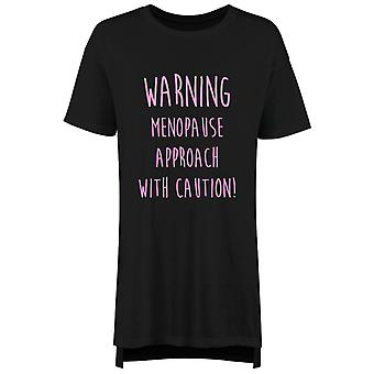 Warning Menopause Approach With Caution Ladies Nightie