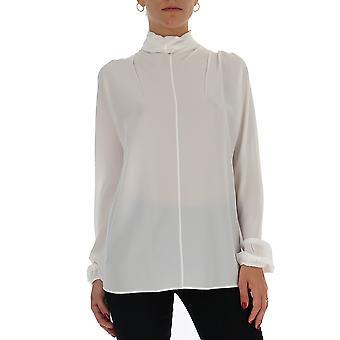 Blusa de algodón blanco de Prada