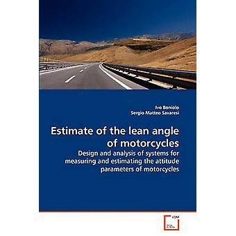 Estimativa do ângulo magra de motocicletas por Boniolo & Ivo