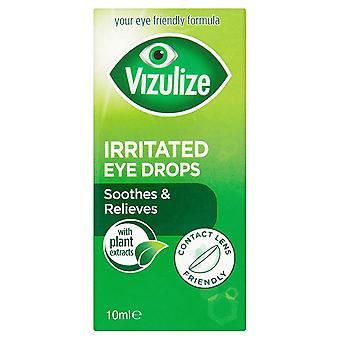 Vizulize Irritated Eye Drops 10Ml