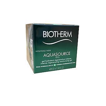 Biotherm Aquasource Gel Intense Moisturizing Gel Normal Combination Skin 1.69 OZ