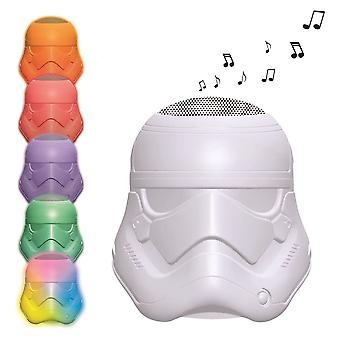 Star Wars Rey Poe Finn BB-8 Stormtrooper Bluetooth Light Speaker (BTL710SW)