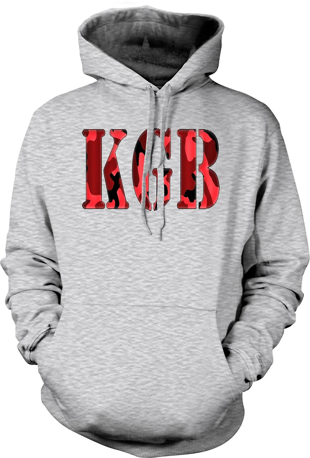 Mens Hoodie - KGB - Russian Intelligence