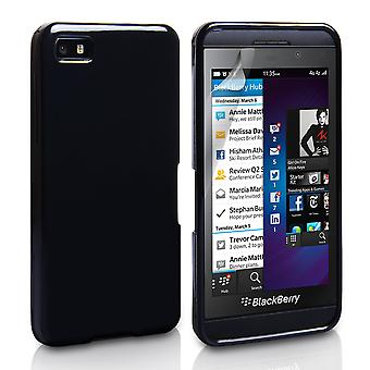 YouSave Accessories Blackberry Z10 Silicone Gel Case - Black