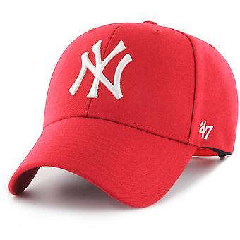 47 fire Snapback Cap - MVP New York Yankees Red