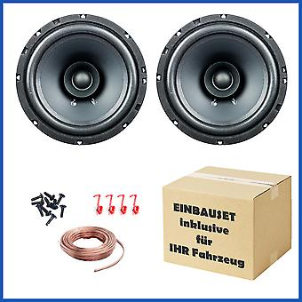 1 Paar PG Audio EVO I 16.2, 16 cm Dual Cone Lautsprecher für Ford,Opel,Lada,Rover,Subaru & Volvo