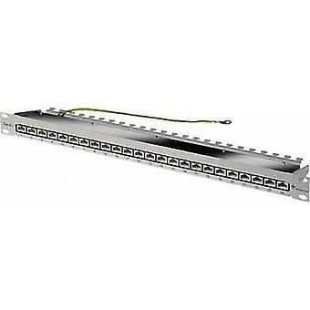 24 ports Network patch panel Telegärtner J02023A0050 CAT 6 1 U