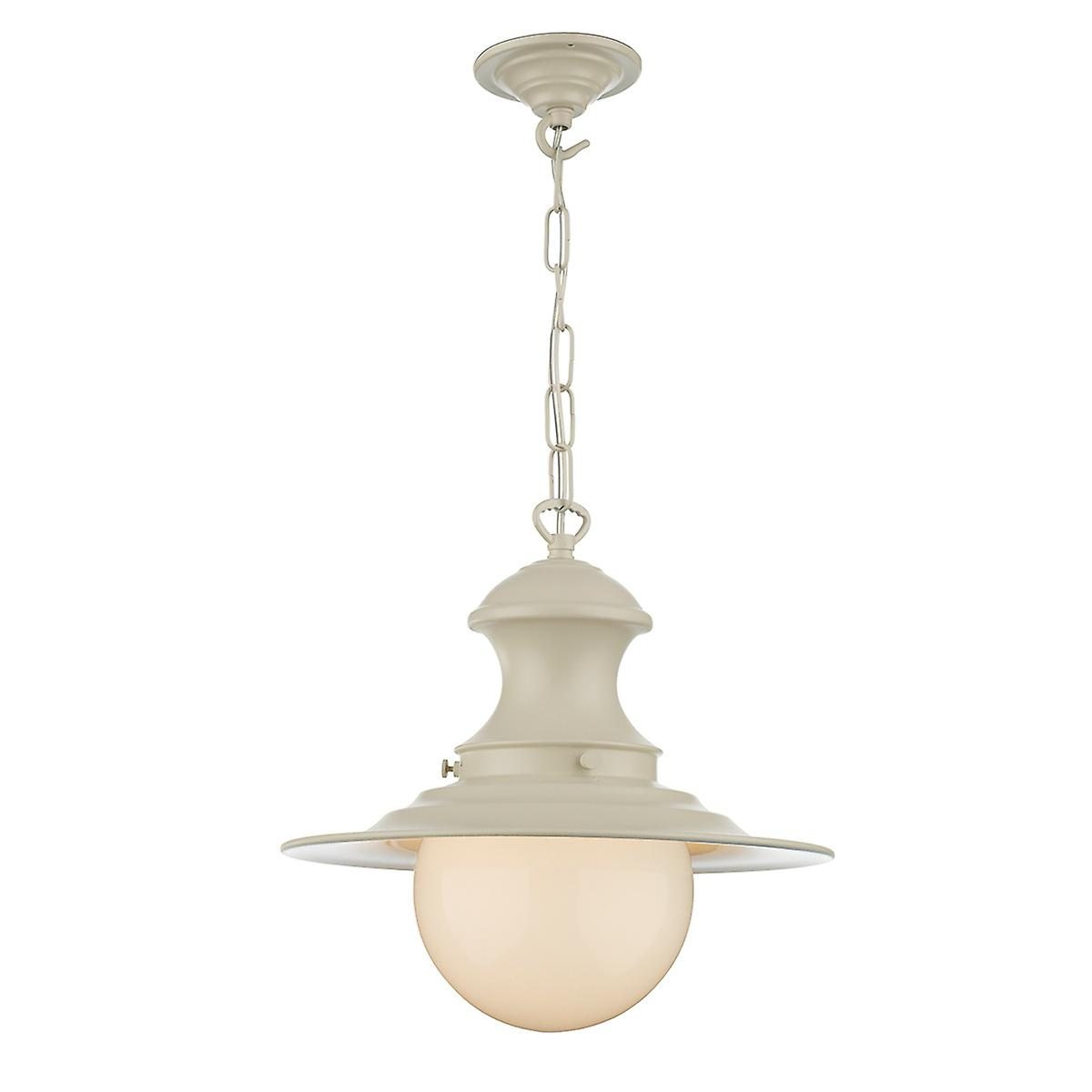 David Hunt EP0133 Station Small Baby Pendant Lamp In Cotswold Cream