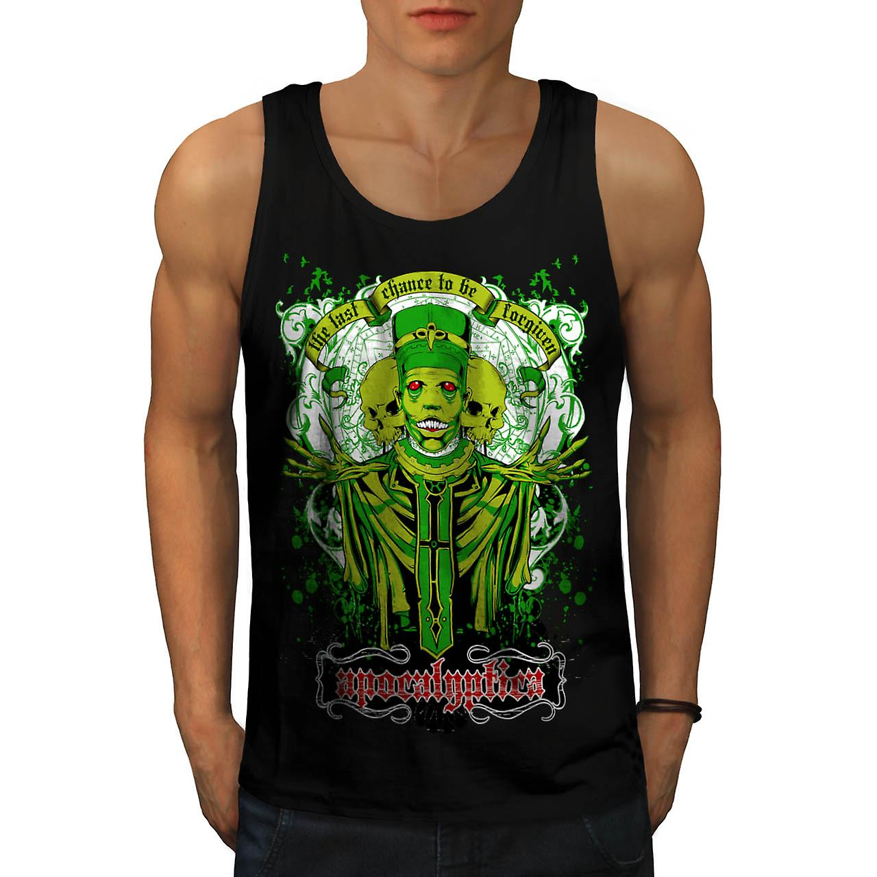Forgiven Apocalypse Evil Belief Men Black Tank Top | Wellcoda