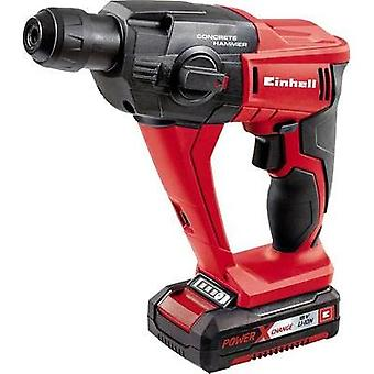 Einhell TE-HD 18 Li Kit SDS-Plus-Cordless hammer drill 18 V 1.5 Ah Li-ion incl. rechargeables, incl. case