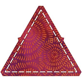 GO! Fabric Cutting Dies-Equilateral Triangle 4-1/4