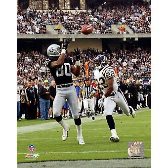 Jerry Rice 2001 Action Photo Print