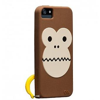 Case-mate Bubbles Monkey case cover iPhone 5 / 5S Brown