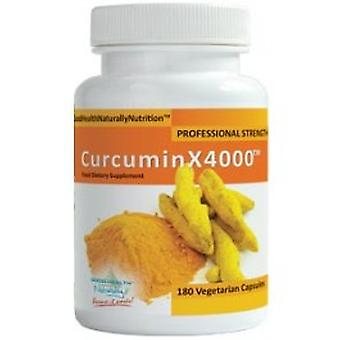 Good Health Naturally - Curcumin (Turmeric) X 4000 180 Capsule
