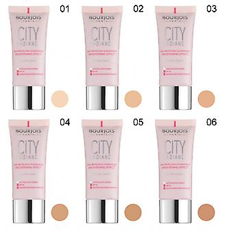 2 x Bourjois Paris City Radiance Foundation 30ml - Various Shades