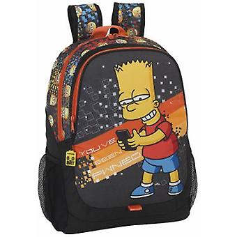 Safta Day Pack Adaptable Carro The Simpsons Technology