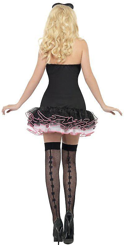 Smiffys Fever French Maid Fancy Fancy Dress Womens Costume